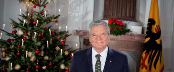 Weihnachtsansprache Im Live Stream Gauck Spricht Am 1