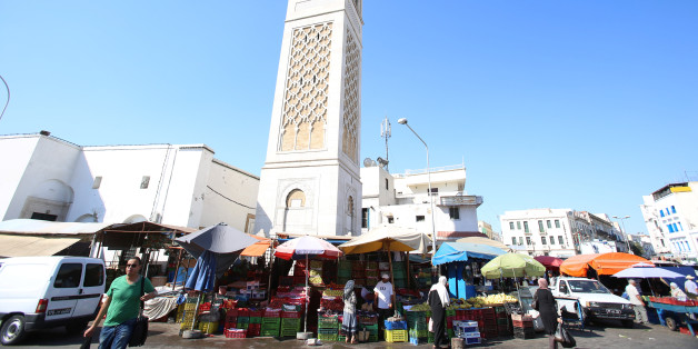 Fruits and vegetables are seen on a street market at  square  Sidi El Bechir in the old city in Tunis, August 9, 2016. Picture taken August 9, 2016  REUTERS/Zoubeir Souissi