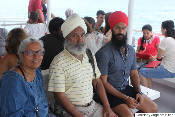jagmeet singh parents