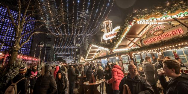 Der Weihnachtsmarkt auf dem Berliner Breitscheidplatz