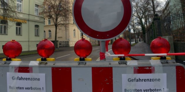 Heikle Phase hat begonnen: Sprengmeister versuchen, gigantische Bombe in Augsburg zu entschärfen