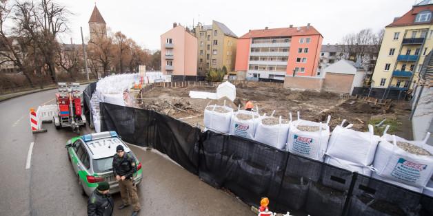 Erleichterung in Augsburg: Riesige Bombe erfolgreich entschärft