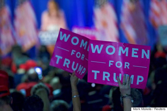 trump for women