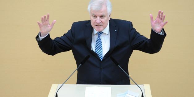 Bayerns Ministerpräsident Horst Seehofer sieht Populismus nicht als bevorzugtes Element in seiner Politik