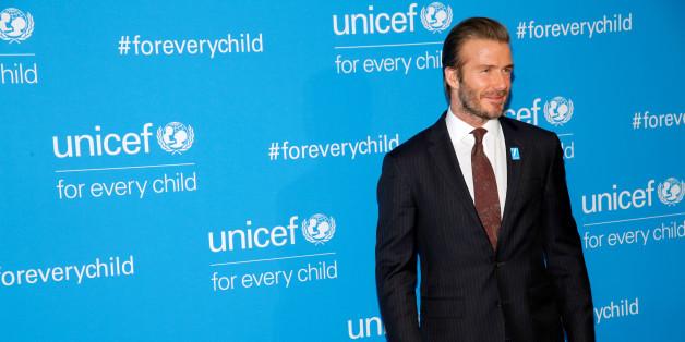 """David Beckham nennt seine Harper """"kleine Meerjungfrau"""" - denn sie macht gerade einen entsprechenden Schwimmkurs"""