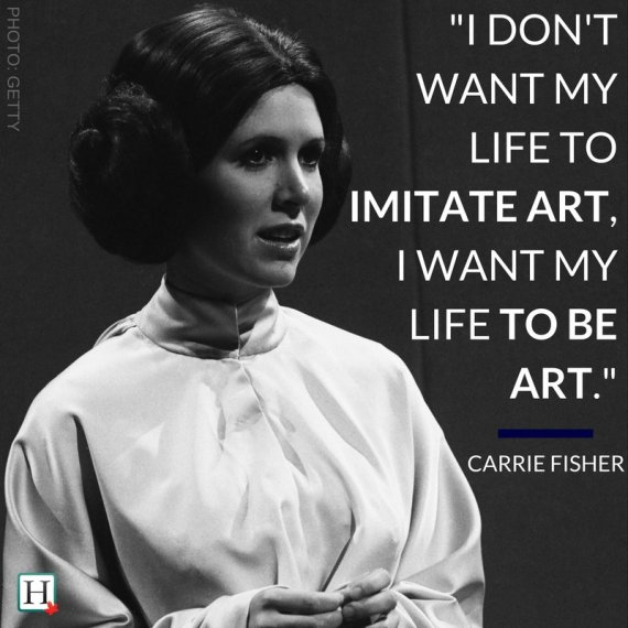 Carrie Fisher Quotes Unforgettable Words From The Star Wars