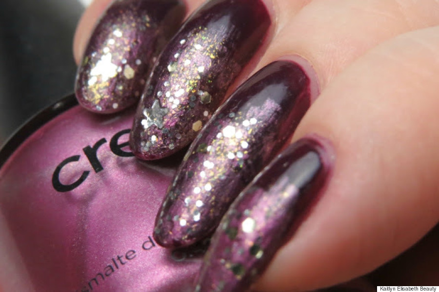 Sparkle On New Year\'s Eve With A Glitter Ombré Manicure