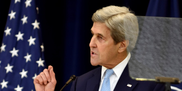 U.S. Secretary of State John Kerry delivers remarks on Middle East peace at the Department of State in Washington, U.S., December 28, 2016. REUTERS/James Lawler Duggan