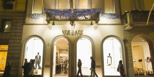 Versace Shop on Via Montenapoleone