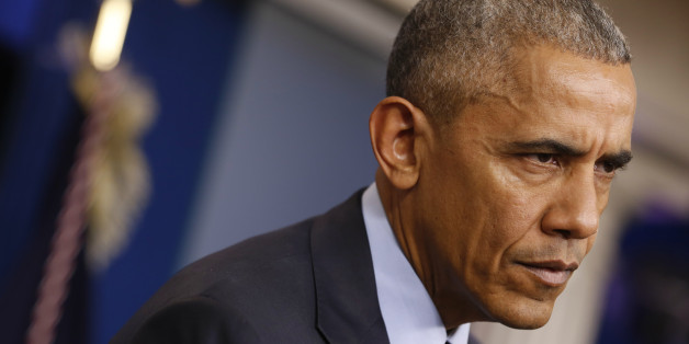 US-Präsident Barack Obama droht Russland