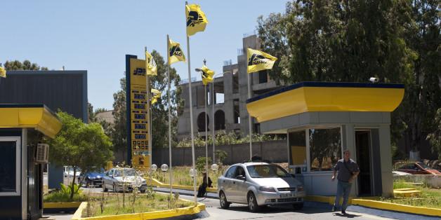 Nafta petrol station in Algiers, Algeria. (Photo by Monique Jaques/Corbis via Getty Images)