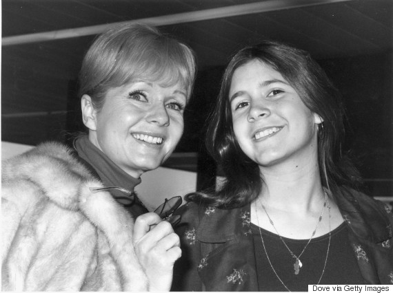 debbie reynolds carrie fisher 1972