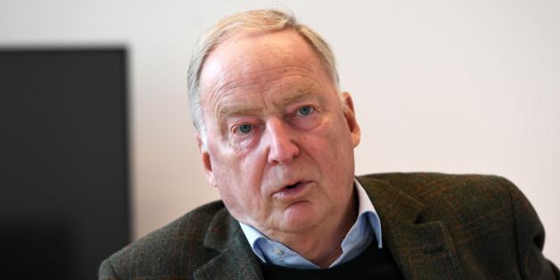 """AfD-Vize Alexander Gauland will, dass die Deutschen wieder öfter die Begriffe """"Mohrenköpfe"""" und """"Zigeunerschnitzel"""" verwenden"""