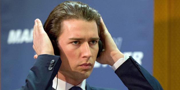 Österreichs Außenminister Sebastian Kurz will die Sanktionen gegen Russland auflockern
