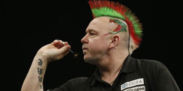 Peter Wright ist wieder bei der Darts-WM