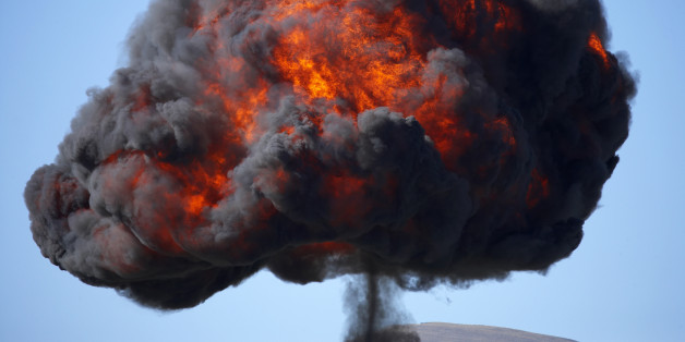 New Zealand, Otago, Wanaka, Warbirds Over Wanaka, Controlled Explosions