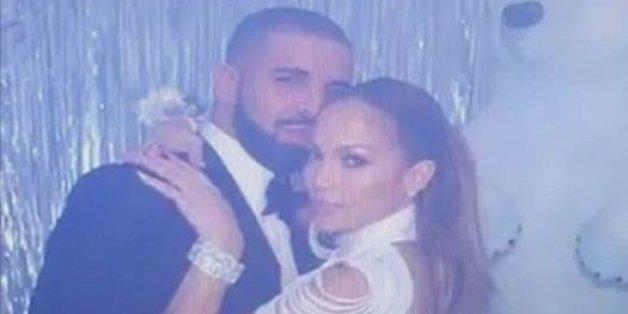 Après le câlin entre Jennifer Lopez et Drake, le bisou
