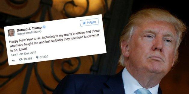 Trump wettert auf Twitter gegen seine Feinde
