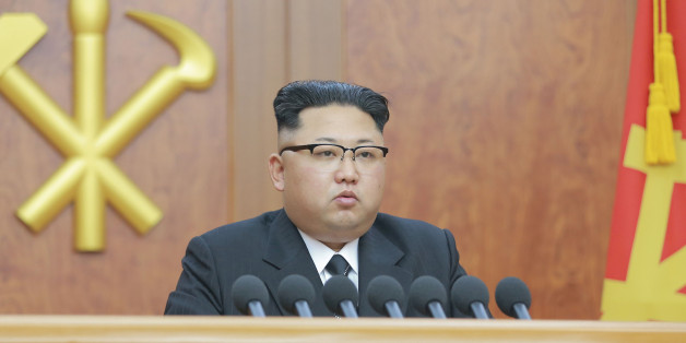 North Korean leader Kim Jong Un gives a New Year address for 2017 in this undated picture provided by KCNA in Pyongyang on January 1, 2017. KCNA/via ReutersATTENTION EDITORS - THIS IMAGE WAS PROVIDED BY A THIRD PARTY. EDITORIAL USE ONLY. REUTERS IS UNABLE TO INDEPENDENTLY VERIFY THIS IMAGE. SOUTH KOREA OUT. NO THIRD PARTY SALES. NOT FOR USE BY REUTERS THIRD PARTY DISTRIBUTORS.Ê