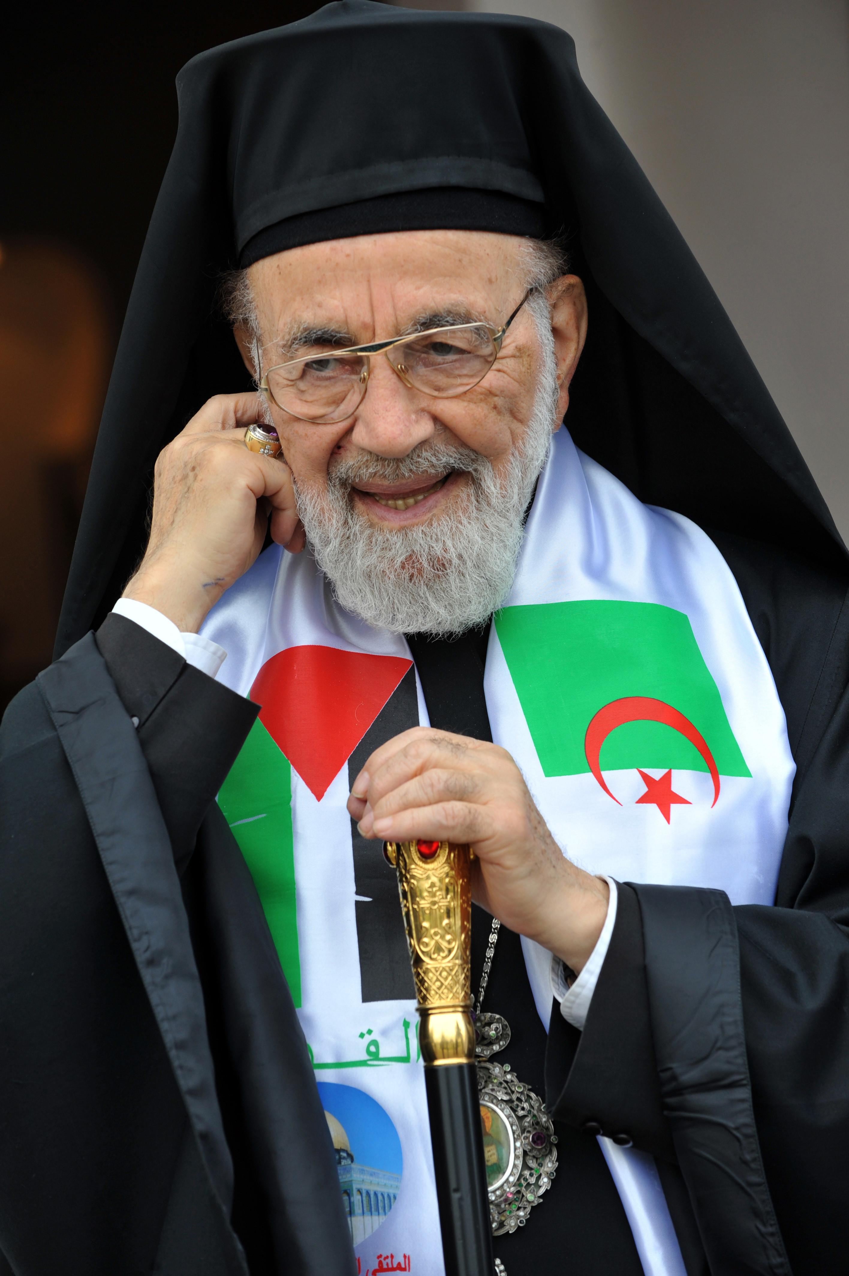 palestinian archbishop hilarion capucci