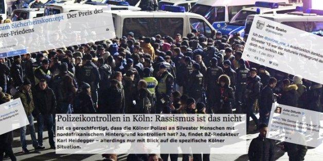So reagiert die Presse auf den Racial Profiling-Vorwurf gegen die Polizei nach ihrem Vorgehen in Köln.