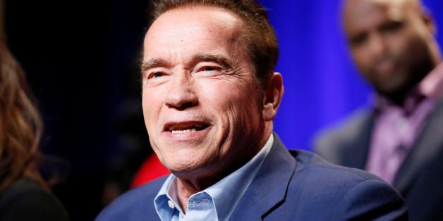 "Host Arnold Schwarzenegger participates in a panel for ""The New Celebrity Apprentice"" in Universal City, California, December 9, 2016. REUTERS/Danny Moloshok"