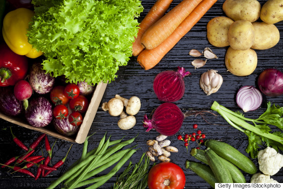 vegetables table