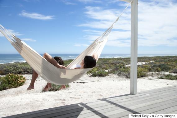 relax sleep beach