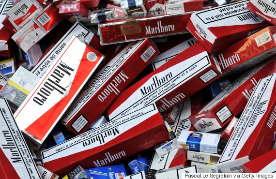 counterfeit cigarette