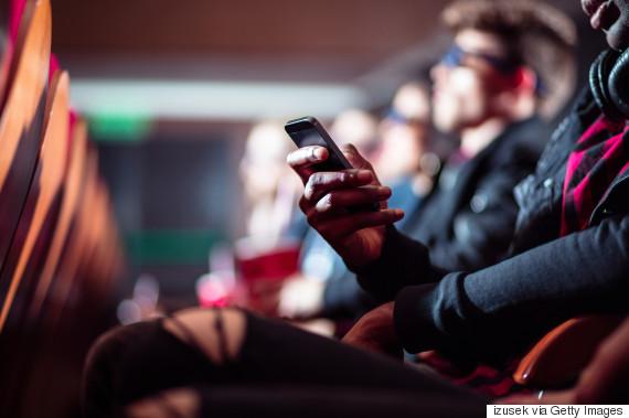 theatre smartphone