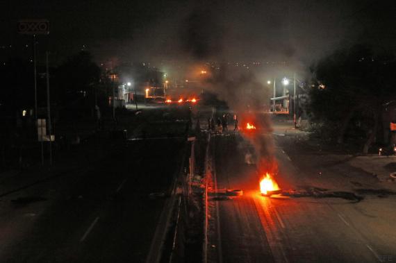 disturbios mexico