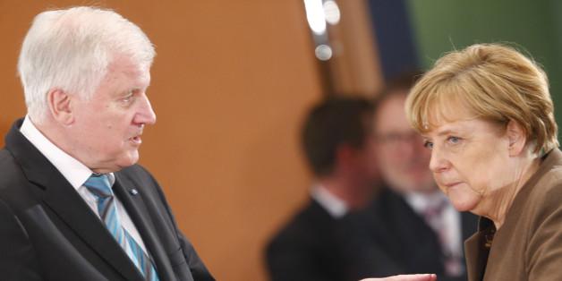 Weder Horst Seehofer noch Angela Merkel wollen im Streit um die Obergrenze einlenken