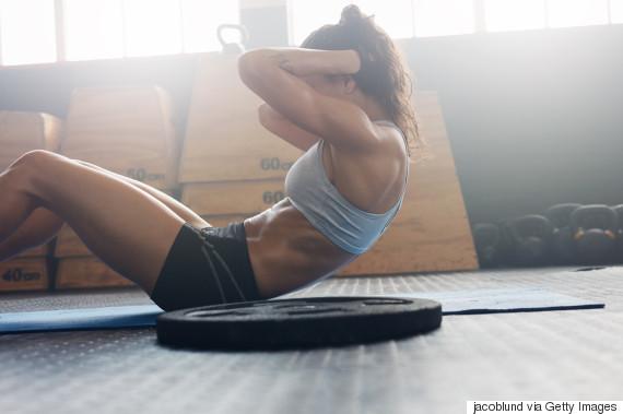 jacoblund woman workout gym