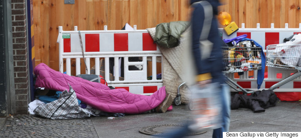 homeless berlin