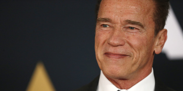 Actor Arnold Schwarzenegger arrives at the 8th Annual Governors Awards in Los Angeles, California, U.S., November 12, 2016.  REUTERS/Mario Anzuoni