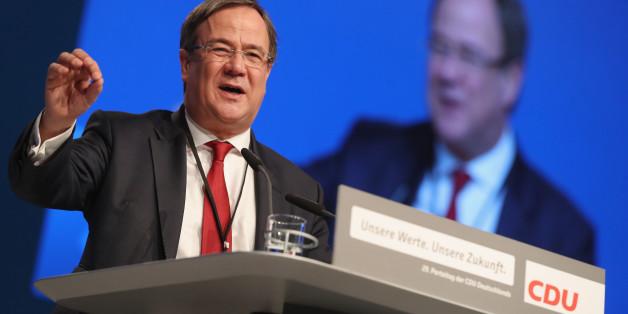 Armin Laschet (CDU) macht Druck auf die Grünen