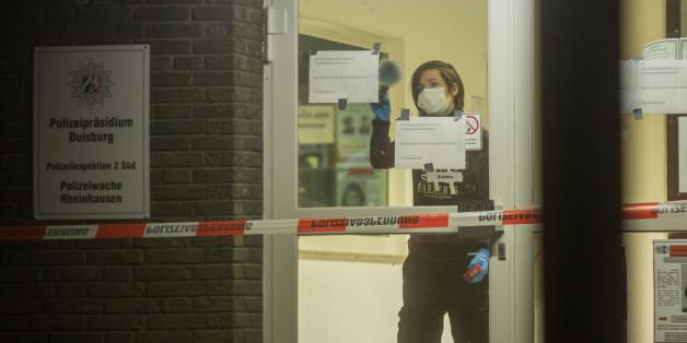 Duisburg: Polizei erschießt Mann nach Messer-Attacke