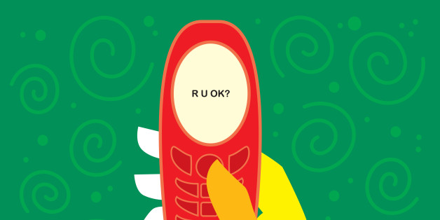 Cell Phone with R U OK