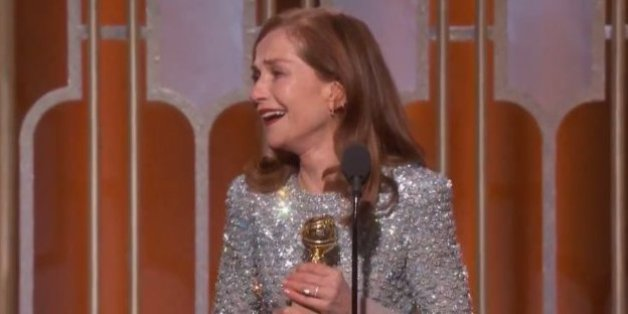 "Isabelle Huppert sacrée aux Golden Globes avec ""Elle""."