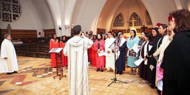 """Une """"galette de la fraternité"""" réunit musulmans, juifs et chrétiens à Mohammedia"""
