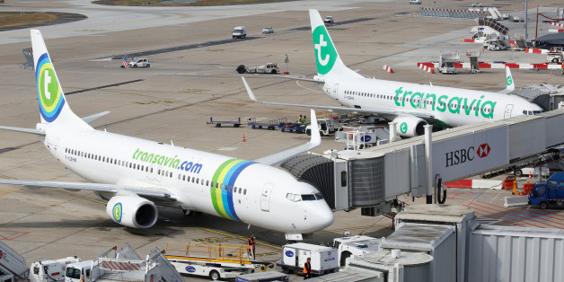 Transavia compagny aicrafts are pictured at the Paris-Orly airport in Orlyat the Paris-Orly airport in Orly, France, August 10, 2016. REUTERS/Jacky Naegelen