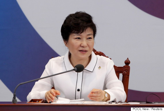 park geun hye speak