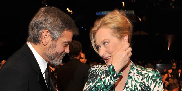 George Clooney und Meryl Streep sind gute Freunde