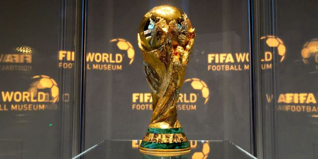 The World Cup trophy is seen in the FIFA World Football Museum during its inauguration on February 28, 2016 in Zurich.Newly-elected FIFA president Gianni Infantino paid tribute to his disgraced predecessor in the job, Sepp Blatter, for the role he played in establishing a new $140million football museum which opened Sunday in Zurich. / AFP / FABRICE COFFRINI        (Photo credit should read FABRICE COFFRINI/AFP/Getty Images)