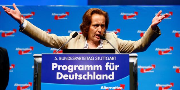 Eine unendliche Geschichte: Beatrix von Storch will hetzen - und mal wieder geht es daneben