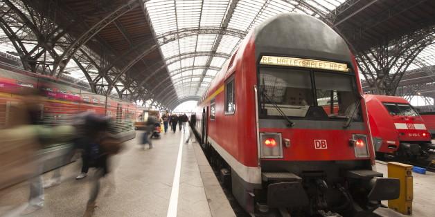 Ein Zug - ohne Nackten