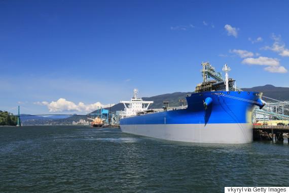 oil tanker port of vancouver