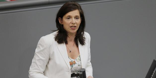 Katrin Göring-Eckardt im Bundestag