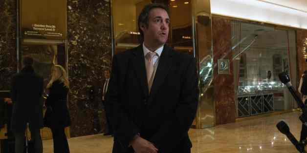 Attorney Michael Cohen arrives at Trump Tower for meetings with President-elect Donald Trump on December 16, 2016 in New York.  / AFP / Bryan R. Smith        (Photo credit should read BRYAN R. SMITH/AFP/Getty Images)