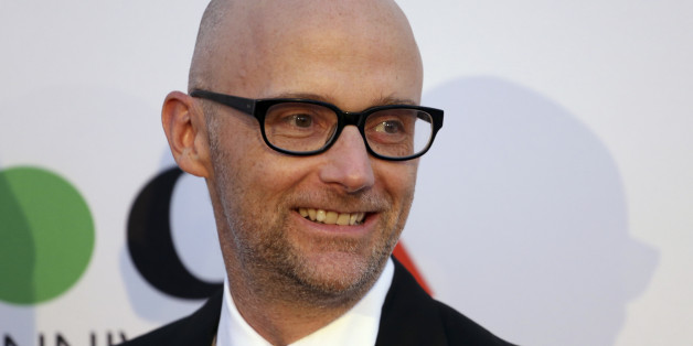 Musician Moby attends MOCA's 35th Anniversary Gala presented by Louis Vuitton at The Geffen Contemporary at MOCA in Los Angeles March 29, 2014.  REUTERS/Jonathan Alcorn (UNITED STATES - Tags: ENTERTAINMENT FASHION)